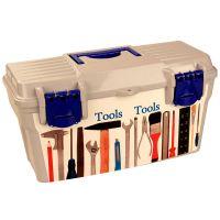 Ящик для инструментов 100 мелочей (415x210x210)