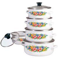 Набор эмалированной посуды KB-7169 KLAUSBERG (10 предметов)