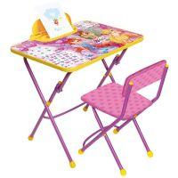 Комплект Винкс 3 (стол, стул, пенал)