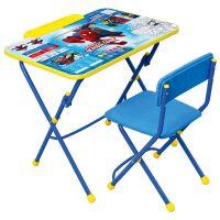 Комплект Марвел 3 (стол, стул, пенал)