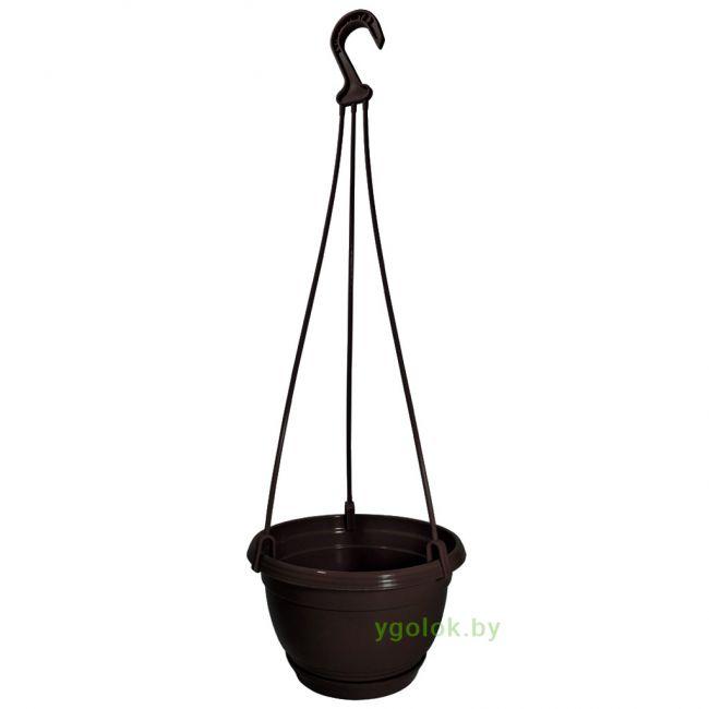 Горшок подвесной пластиковый Domi диаметр 18 см