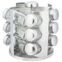 Набор банок для специй 12 штук на металлической подставке KH-4005 KINGHoff