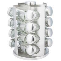 Набор банок для специй 16 штук на металлической подставке KH-4006 KINGHoff
