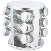 Набор банок для специй 12 штук на металлической подставке KH-4010 KINGHoff