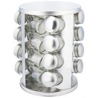 Набор банок для специй 16 штук на металлической подставке KH-4011 KINGHoff