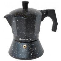 Гейзерная кофеварка на 6 чашек KB-7159 KLAUSBERG