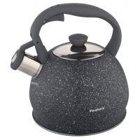 Чайник 2 л со свистком KB-7321 KLAUSBERG (серый)