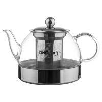 Заварочный чайник стеклянный 1 л KH-4846 KINGHoff