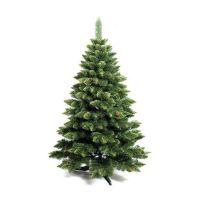 Ель (сосна) новогодняя Снежная Королева с зеленым напылением 120 см GrandSITI