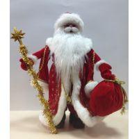 Сувенир Дед Мороз красный 40 см