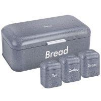 Хлебница и 3 баночки KH-1074 KINGHoff