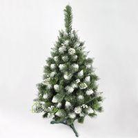 Ель новогодняя Снежная Королева с украшениями 120 см GrandSITI