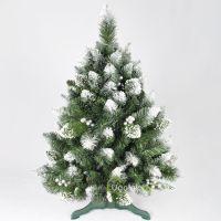 Ель новогодняя Снежная Королева с украшениями 100 см GrandSITI