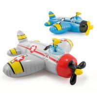 Надувная игрушка-наездник Intex Самолет с водным пистолетом (57537NP)