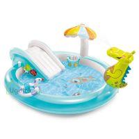 Детский надувной центр-бассейн Intex Крокодильчик (57165NP)