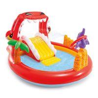Детский надувной центр-бассейн Intex Счастливый Дино (57163NP)