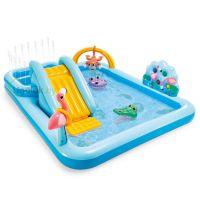 Детский надувной центр-бассейн Intex Приключения в джунглях (57161NP)