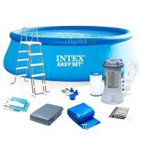 Бассейн надувной Intex Easy Set 457x107 см (26166NP)