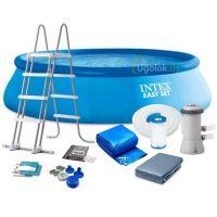 Бассейн надувной Intex Easy Set 457x122 см (26168NP)