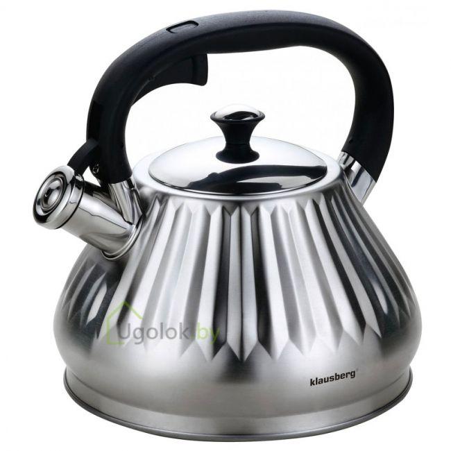 Чайник для плиты со свистком 3 л KLAUSBERG KB-7477