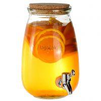 Лимонадник (диспенсер) стеклянный 3 л