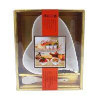 Набор подарочный из фарфора XD-2083-1S (салатница, ложка)
