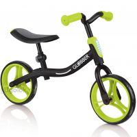 Беговел Globber Go Bike чёрно-зелёный
