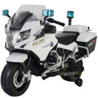 Мотоцикл на аккумуляторе Chi Lok Bo BMW R 1200 RT-P чёрно-белый