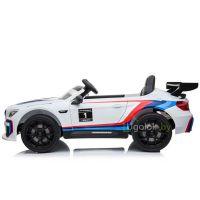 Электромобиль детский BMW M6 GT3 E 668R белый