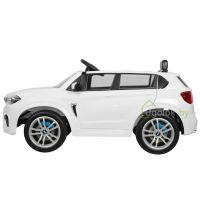 Детский электромобиль BMW X5M E 660R белый