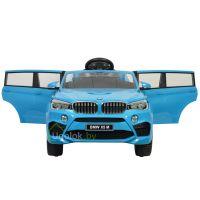 Детский электромобиль BMW X5M E 660R голубой