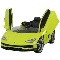 Электромобиль Chi Lok Bo Lamborghini Centenario зелёный