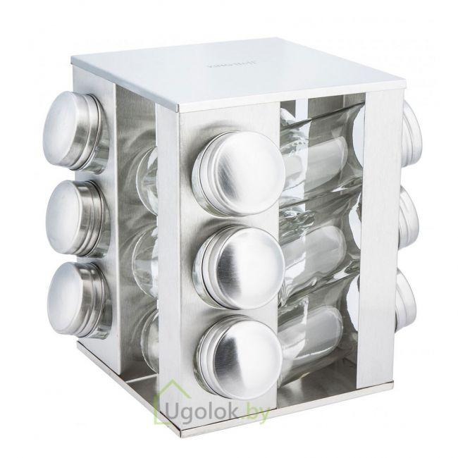 Набор баночек для специй KINGHoff KH-4008 (12 штук)