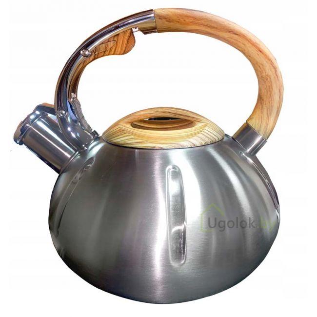 Чайник со свистком из нержавеющей стали 2.0 л BRUNBESTE BB-1423