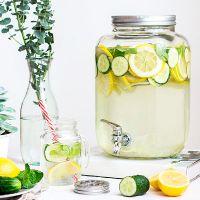 Лимонадник: красивая и удобная банка с краном