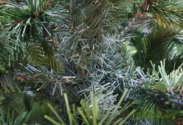 Ствол новогодней искусственной ёлки Сверк с литыми ветками РЕ Корейская