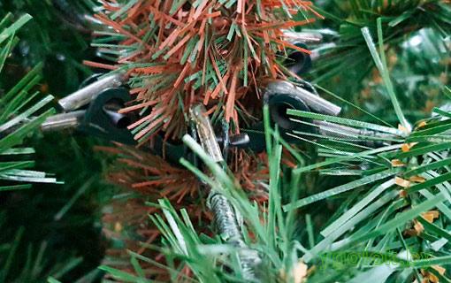 Новогодняя искусственная ёлка Toskana с ветками на шарнирах